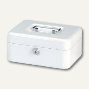 MAUL Geldkassette 2, 20 x 17 x 9 cm, weiß, 5610202