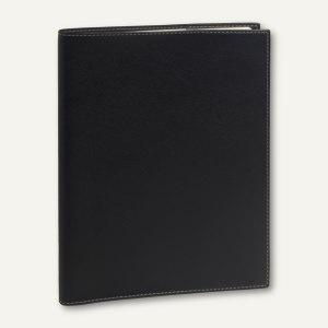 Eurequart Club Terminkalender - 24 x 30 cm, 1 Woche/2 Seiten, schwarz, 26033Q