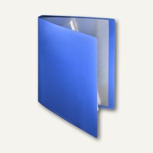 FolderSys Soft-Sichtbuch DIN A4, incl. 20 Hüllen, blau, 20 Stück, 25802-40