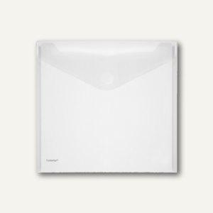 Dokumententasche, 320 x 320 mm, quadratisch, PP transparent, 100 St., 40137-04