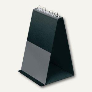 Veloflex Tischflipchart, DIN A4 hoch, 4 Ringe Ø 20 mm, PVC, schwarz, 4102 080