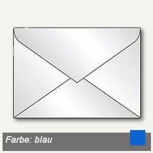 Briefumschlag DIN C5, nassklebend, 100g/m² transparent-blau, 100St., 1959680853
