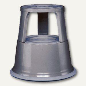 Wedo Rollhocker Metall, 43 cm, 150 kg, grau, 212112 - Vorschau