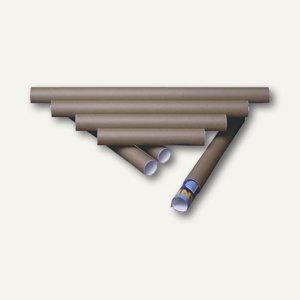 MAILmedia Versandrolle, 350 x 50 mm, braun, 10 Stück, 30001355