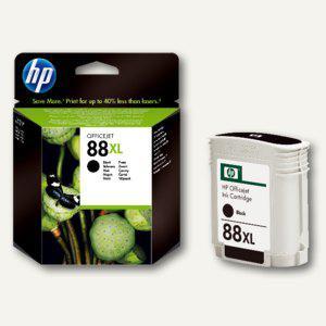 HP Tintenpatrone Nr.88, schwarz, hohe Kapazität, C9396AE - Vorschau