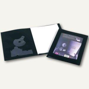 Rexel Sichtbücher DIN A3, mit 24 Hüllen, schwarz, 10er-Pack, 17434BK