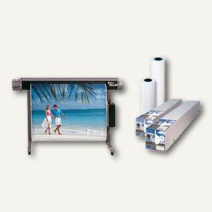 "Heipa InkJet-Plotterpapier, 120 g/m², 91.4cm x 30m x 2"", weiß, F 725 966"