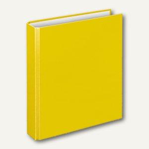 "Ringbücher "" Basic"", DIN A5, PP, 2 D-Ringe Ø 25 mm, gelb, 10 Stück, 1151010"