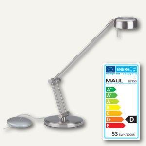 MAUL Halogen-Tischleuchte MAULpool, 50 Watt, dimmbar, silber, 8228095