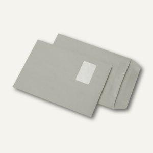 Versandtaschen DIN C4, mit Fenster grau selbstklebend 250 St., 383858 - Vorschau