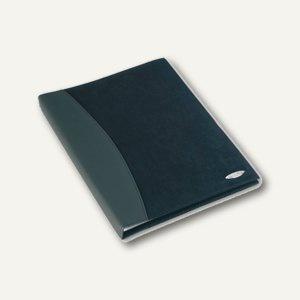 Sichtbuch SOFT TOUCH COMBO, 24 Hüllen DIN A4, Velourlederoptik/glatt, schwarz