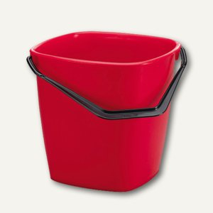 Durable Eimer Bucket, 9.5 Liter, B250 x H245 x T250 mm, rot, 1809413080