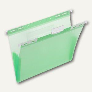 FolderSys PP-Hängemappe, CD Tasche innen, grün, 20 Stück, 70045-54