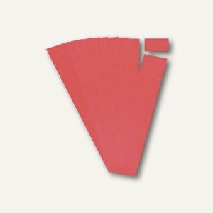 Ultradex Steckkarten für Planrecord Tafeln, 7 cm, rot, 90er Pack, 140705