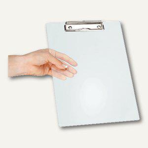 MAUL Schreibplatte Acryl m. Bügelklemme, DIN A5, glasklar, 2 St., 2375605 - Vorschau