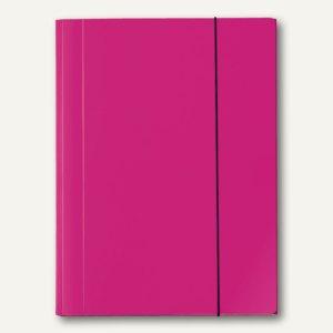 Sammelmappe VELOCOLOR®, A4, Karton, 15 mm Füllhöhe, 350g/qm, pink, 6St., 4442371