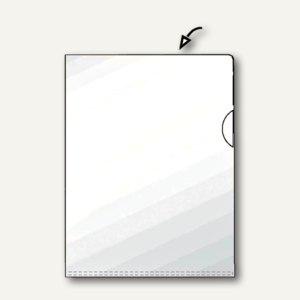 Hetzel Sichthüllen, DIN A4, 120my, PVC, glasklar, transparent, 50 Stück, 21770090