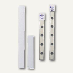 officio Wandleiste für Magnete, 100 x 5 cm, weiß, 691-10