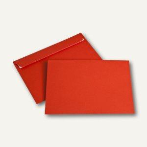 officio Briefumschlag DIN C5, 100 g/m², haftklebend, intensivrot, 250 Stück