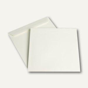 """Briefumschlag """" naturelle"""", nassklebend, 220 x 220 mm, cremeweiß, 500 Stück"""