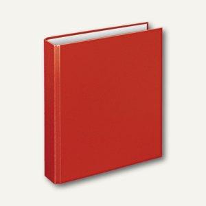 """Ringbücher """" Basic"""", DIN A5, PP, 4-D-Ringe Ø 25 mm, rot, 10 Stück, 1153020"""
