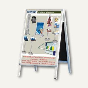Franken Plakatständer DIN A1, Werbedisplay, Aluminium, spritzwassergesch., BSA1