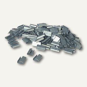 Verschlusshülsen für Umreifungsband, 12 x 25 mm, teiloffen, 2.000 Stück