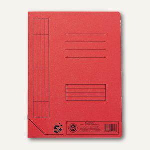 officio Karton- Schnellhefter DIN A4, rot, 100er Pack - Vorschau