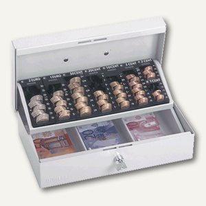 Geldkassette 703 ST, 31 x 18, 5 x 11 cm, abschliessbar, grau, 50703031217999