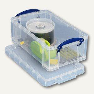 Aufbewahrungsboxen 5 Liter, 340 x 200 x 125 mm, transparent, 5 Stück, 4802610