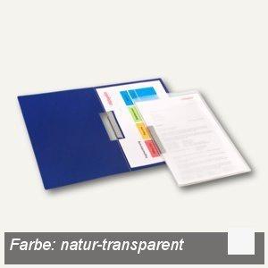 dataplus Klemmhefter, DIN A4, natur-transparent, 26042086