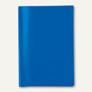 Herma Heftschoner DIN A5, PP, transparent/blau, 25 Stück, 7483