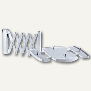 """MAUL Telefon-Scherenarm """" elegant"""", Wandhalterung, bis 5 kg, grau, 8313582"""