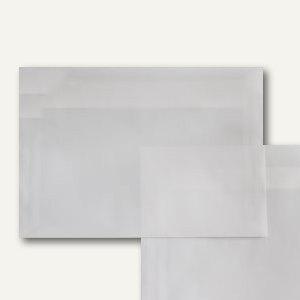 Briefumschlag DIN C5, haftklebend, 92g/m², transparent-klar, 100er-Pack