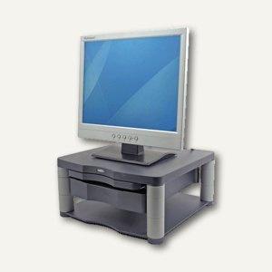 Fellowes Monitorständer Premium Plus, höhenverstellbar, Schublade, 9169501