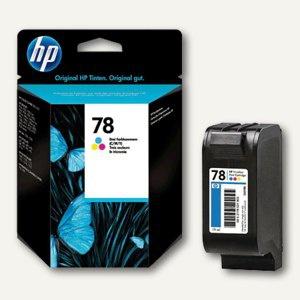 HP Tintenpatrone Nr.78 für Deskjet 920/940, 3-farbig, 19 ml, C6578DE