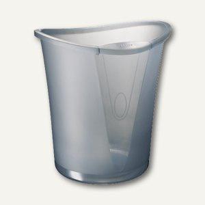 LEITZ Papierkorb ALLURA, 18 Liter, quarz grau, 5204-00-92