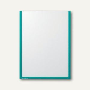 Ultradex Infotasche DIN A3, hoch, selbstklebend, grün, 5 Stück, 879201