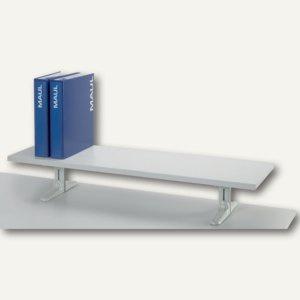 "MAUL board Stehmodell "" melaminharzbeschichtet"", Länge 80 cm, grau, 8002882"