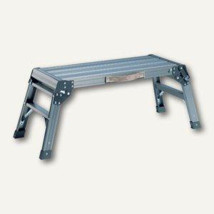 Alu-Arbeitsplattform, 76 x 30 x 37 cm, bis 150 kg, klappbar, Tragegriff, 4 kg