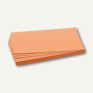 Franken Moderationskarten Rechteck, 205 x 95 mm, orange, 500 Stück, UMZ 1020 05