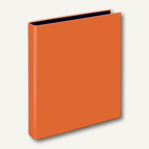 Ringbücher VELOCOLOR A4, Karton, 4 D-Ringe Ø 25 mm, orange, 10 Stück, 1143330