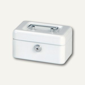 MAUL Geldkassette 1, 15.2 x 12.5 x 8.1 cm, weiß, 5610102