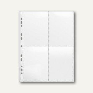 Veloflex Sammelhülle DIN A4, für 4 x DIN A6 hoch, PP 120 my, 100 Stück, 5336000