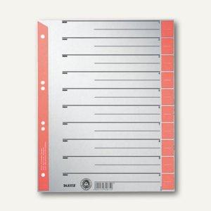 LEITZ Trennblätter DIN A4, Kraftkarton 230 g/m², rot, 100 Blatt, 16520025