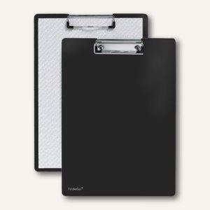 FolderSys Klemmbrett DIN A4 aus PP, schwarz, 30 Stück, 80001-30
