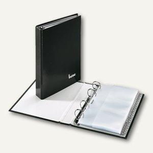 Bene Visitenkartenbuch DIN A5, max. 144 Karten, schwarz, 221425