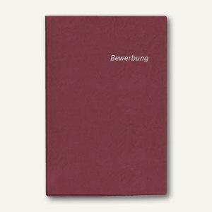 Veloflex Bewerbungs-Heftmappe DIN A4, Karton, 2-teilig, rot, 10 Stück, 4941020
