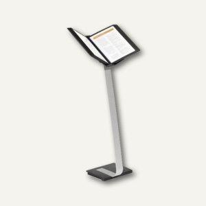 Sichttafel-Bodenständer SHERPA® STAND PRO 10, mit 10 Tafeln, schwarz, 5910-01