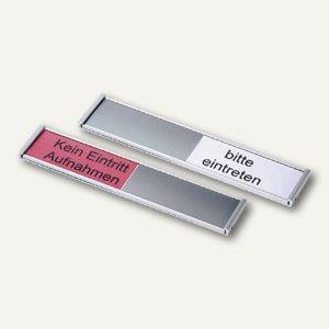 Ultradex Türschild Frei-/Belegt-Anzeiger, 180 x 36 mm, silber, 314577